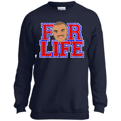 Chuck for Life Inspired Youth Crewneck Sweatshirt - Generation T