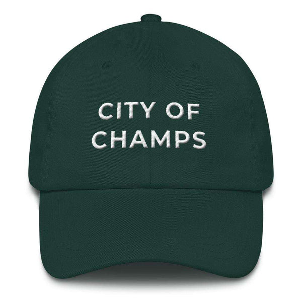 City of Champs Embroidered  Dad hat - Generation T