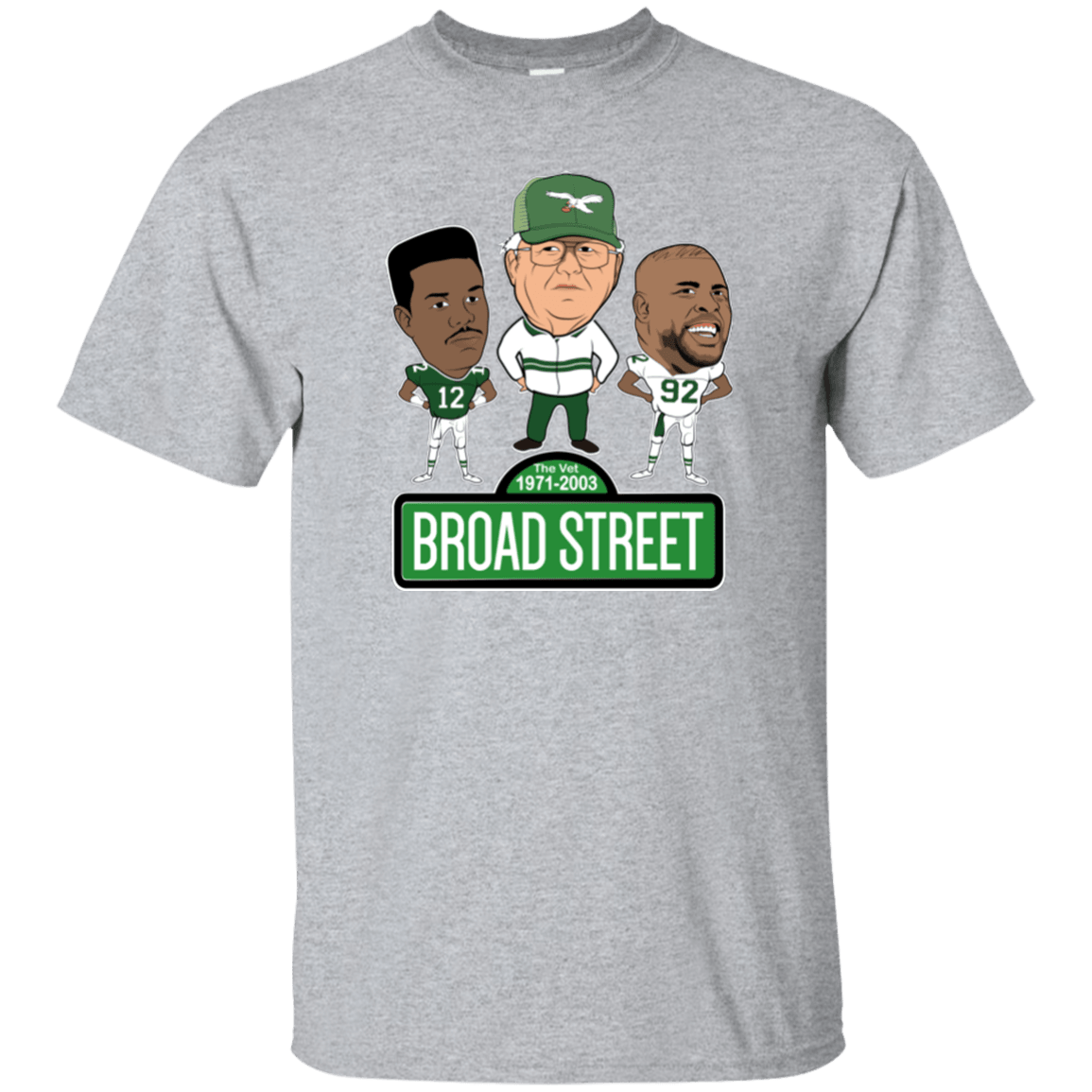 Cyber Special Broad Street Football T-Shirt