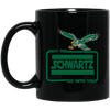 Cyber Special May The Schwartz Be With You Black Mug