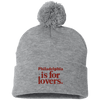 Cyber Special Philadelphia Is For Lovers Pom Pom Knit Cap