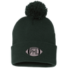Cyber Special Philly Football Pom Pom Knit Cap