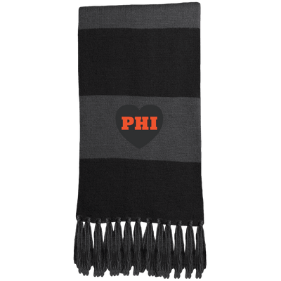 Cyber Special Philly Hockey Love Fringed Scarf