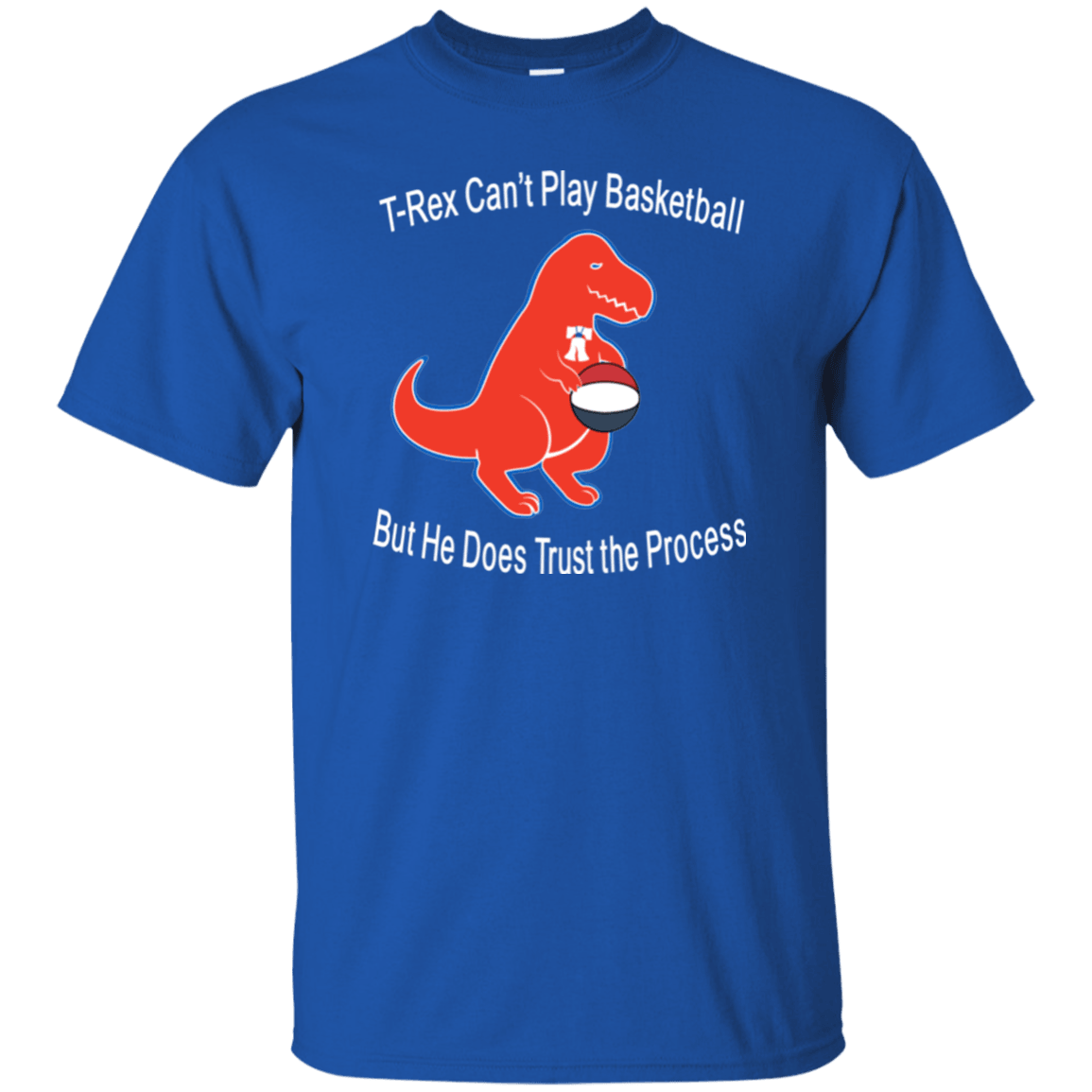 Cyber Special T-Rex Trusts the Process T-Shirt