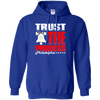 Cyber Special Trust the Process Blue Pullover Hoodie