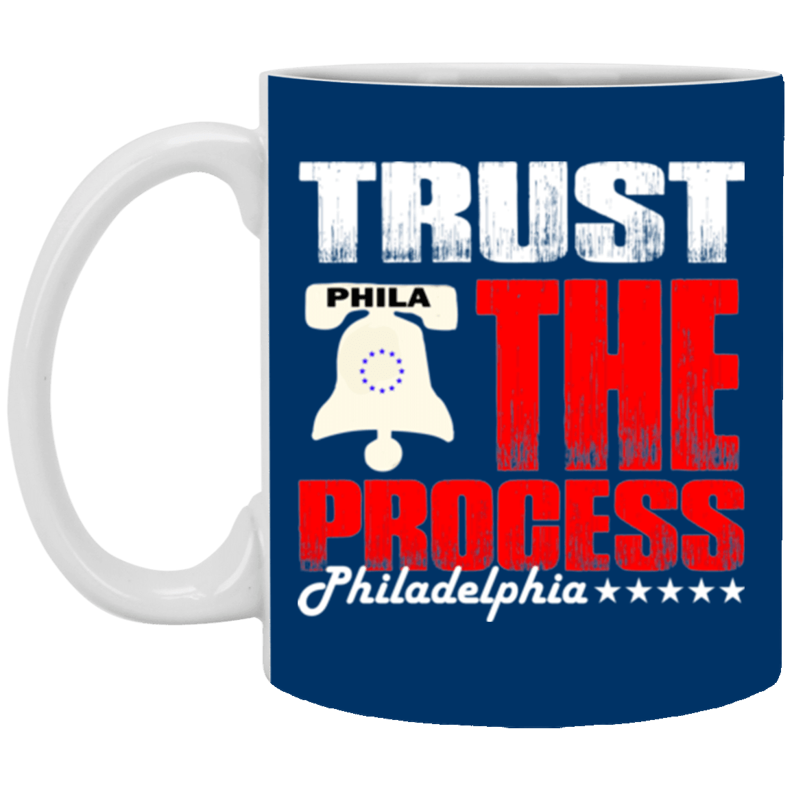 Cyber Special Trust the Process White Mug