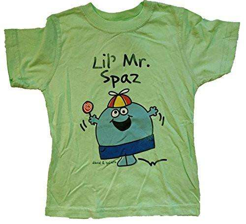 David and Goliath Lil' Mr. Spaz Toddler Tee Shirt