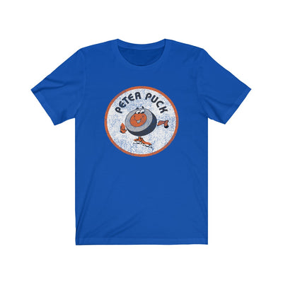 Retro Peter Puck Circle Logo Unisex Jersey Short Sleeve Tee