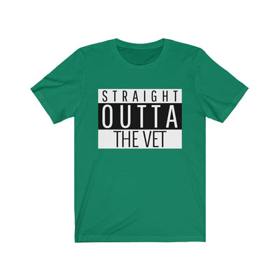 Straight Outta The Vet Unisex Jersey Short Sleeve Tee