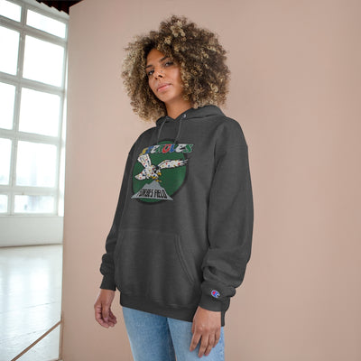 Retro Philly Pittsburgh Steagles Champion Collab Hoodie