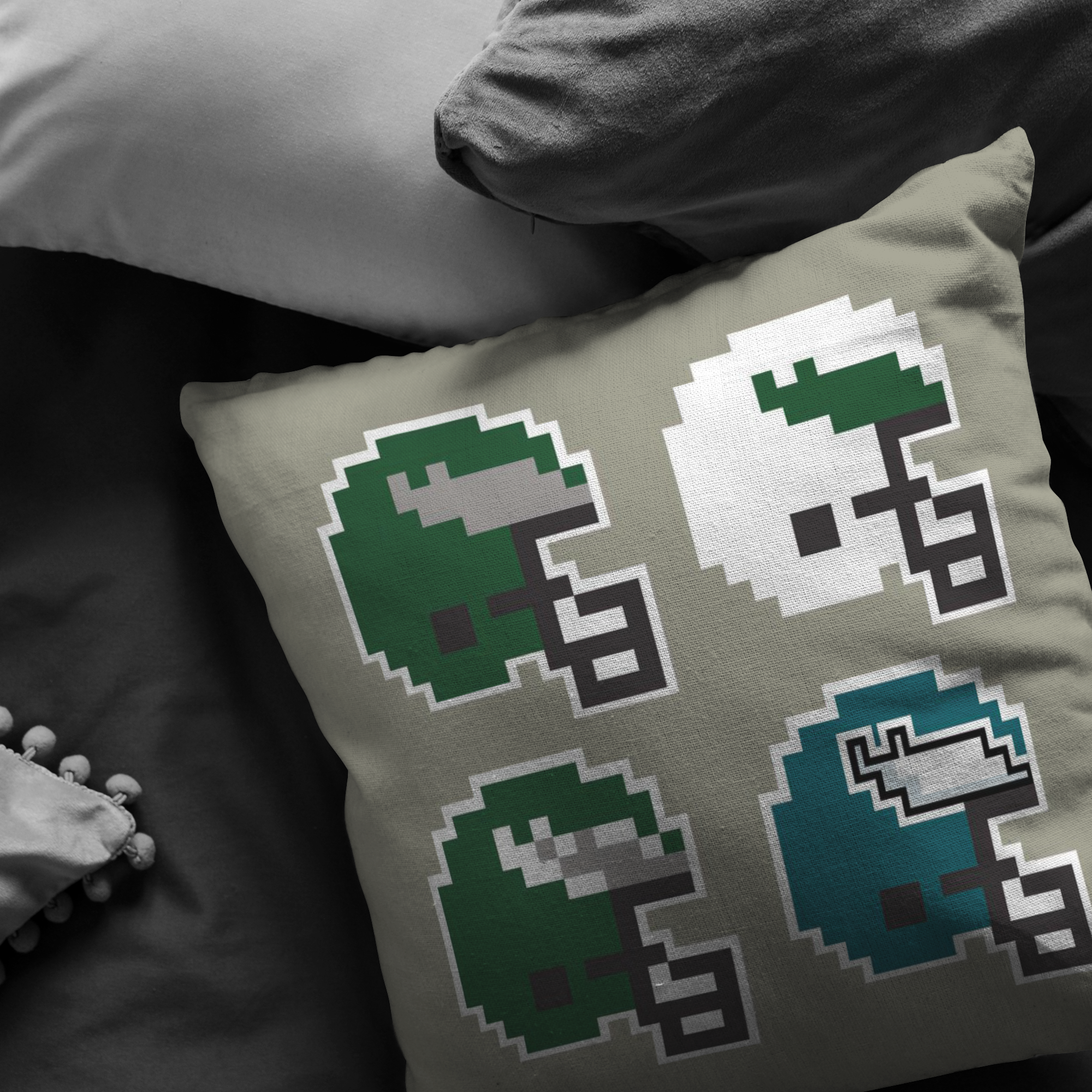 Tecmo Birds Evolution Pillow