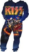 Santa Is Coming! Kiss Adult Onesie