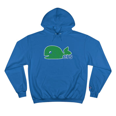 Retro Defunct Hartford Whalers Inspired Champion Collab Hoodie