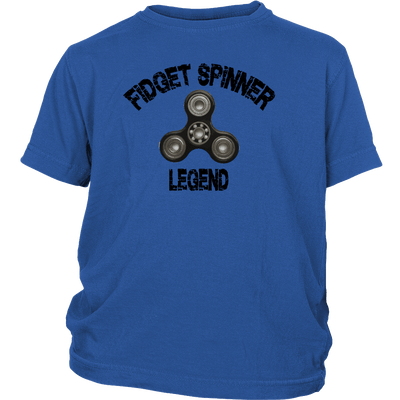 Fidget Spinner Legend Youth T-Shirt