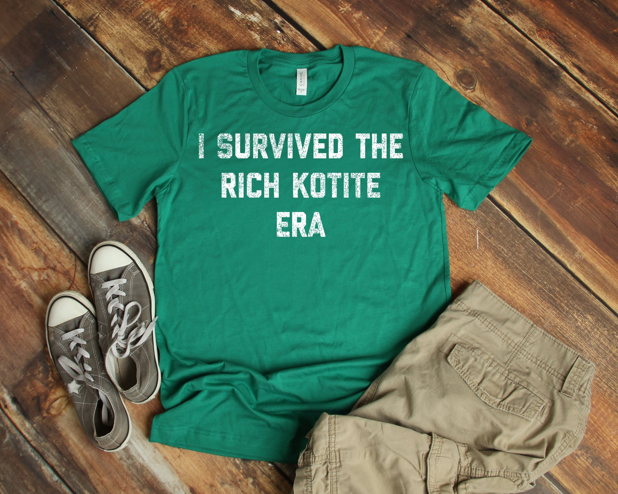 I Survived The Rich Kotite Era Unisex Jersey Short Sleeve Tee