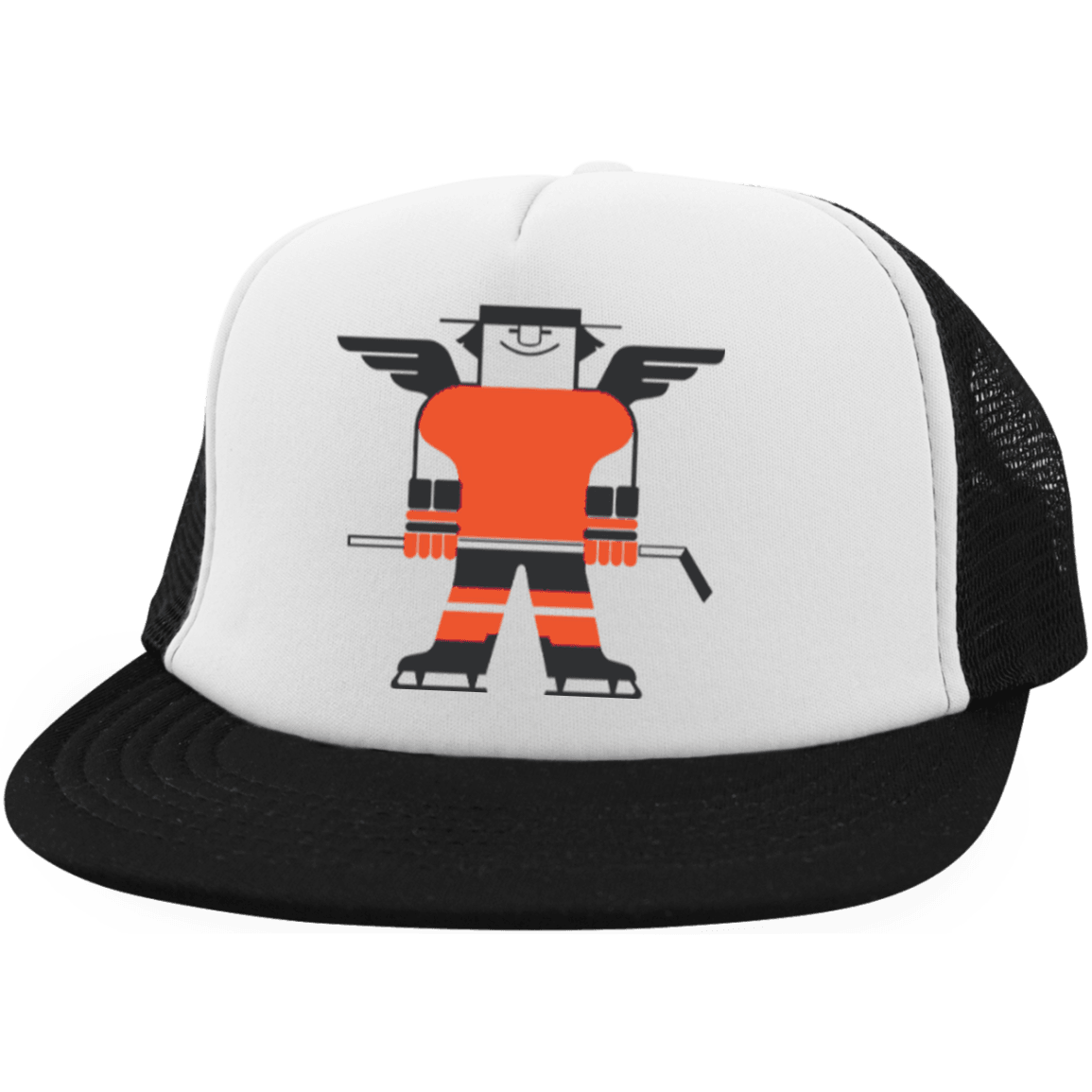 Freddie Flyer Embroidered Trucker Hat with Snapback - Generation T 3ef440d1a26