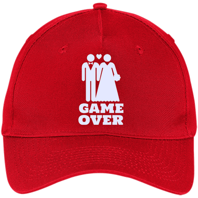 Game Over Five Panel Twill Cap