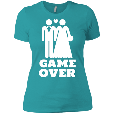 Game Over Next Level Ladies' Boyfriend T-Shirt