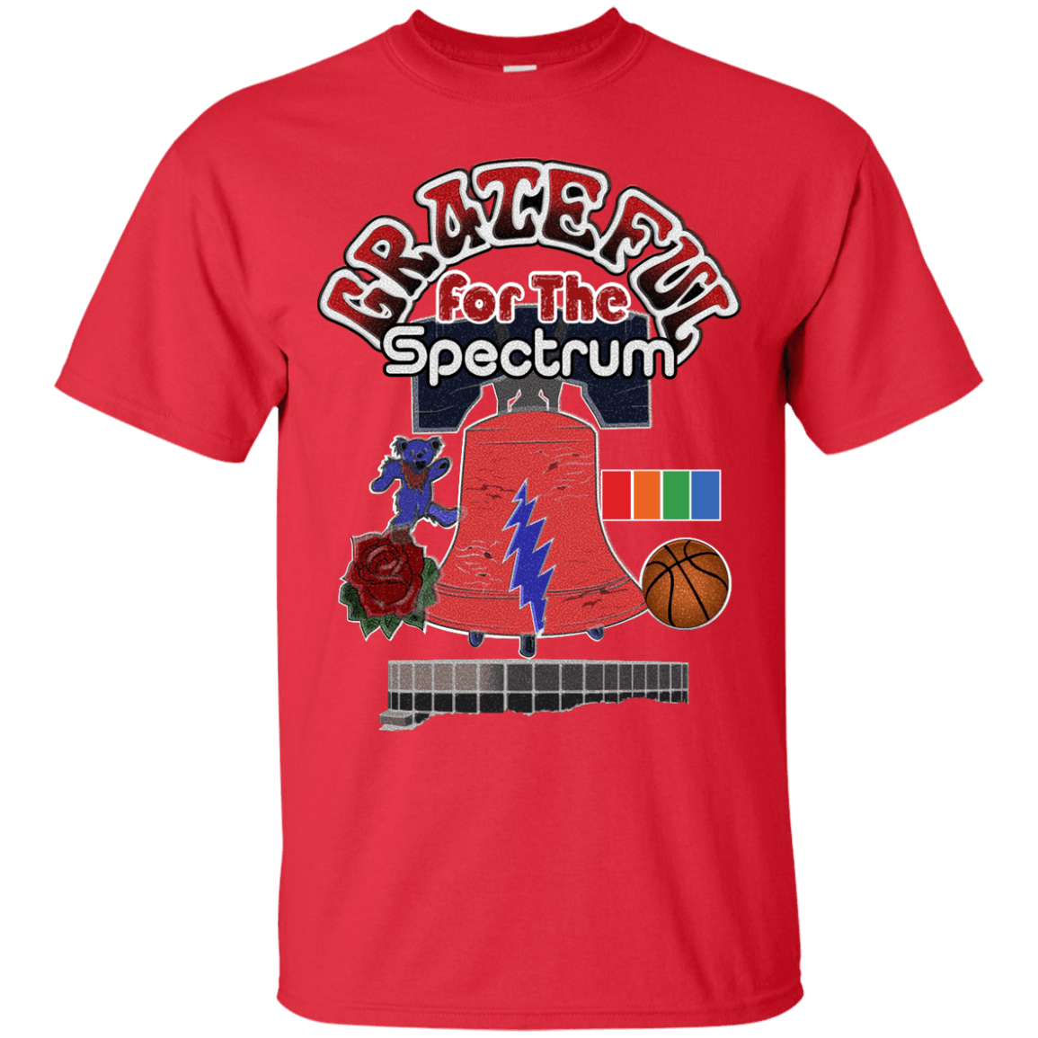 Grateful For The Spectrum Short Sleeve Tee