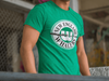 Green New England Whalers Men's Triblend T-Shirt
