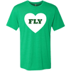 Green Philly Fly Men's Triblend T-Shirt