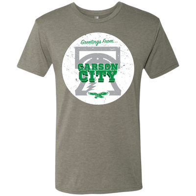 Greetings From Carson City Men's Tri-Blend Tee