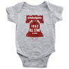Grey 52 All Star Game in Philadelphia Infant Bodysuit
