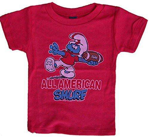 Junk Food All American Smurf Kids Tee Shirt