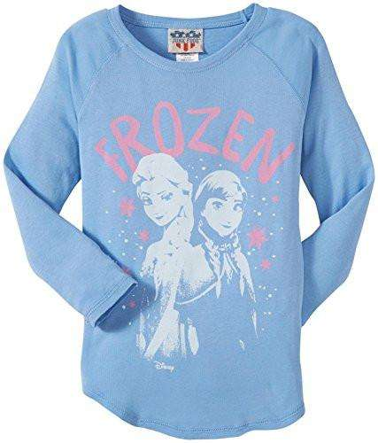 Junk Food Little Girls' Frozen Elsa Wild Child Tee (Toddler/Kid)