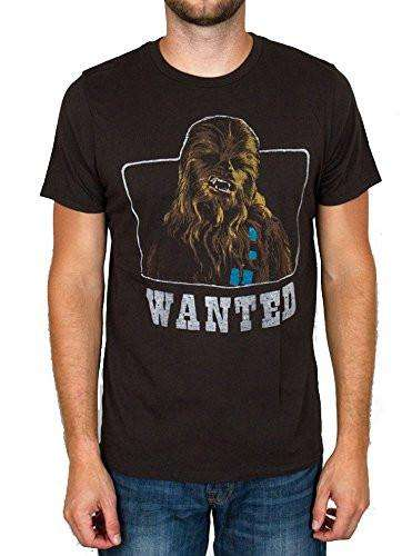 Junk Food Mens Star Wars Wanted Tee Shirt
