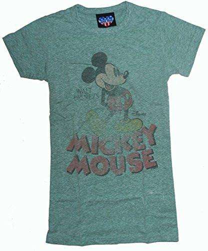 Junk Food Walt Disney's Mickey Mouse Juniors Tri Blend T-Shirt