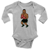 Retro Tyson's Punchout Inspired Infant Long Sleeve Bodysuit