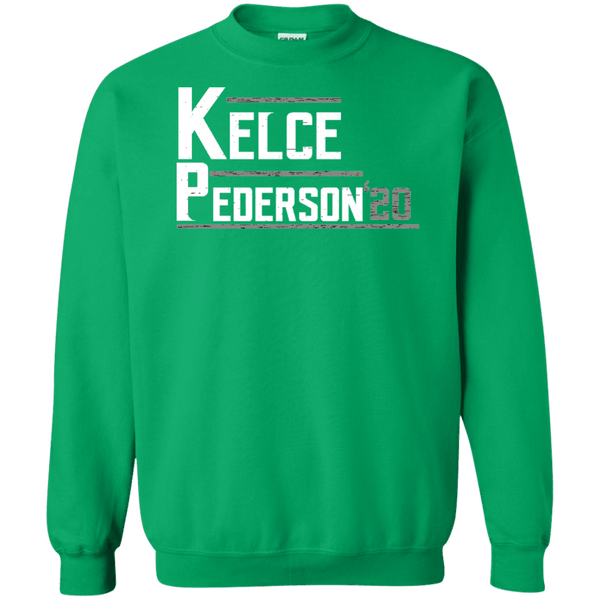 Kelce Pederson 2020 Party Green Crewneck Pullover Sweatshirt