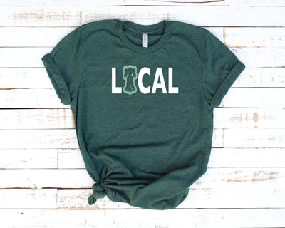 Philly is Local Football Edition Short-Sleeve Unisex T-Shirt