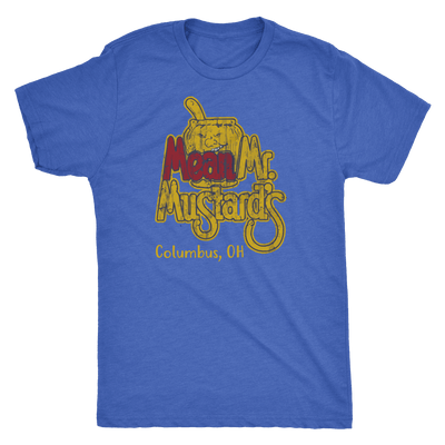 Mean Mr. Mustards Tri Blend Tee Shirt