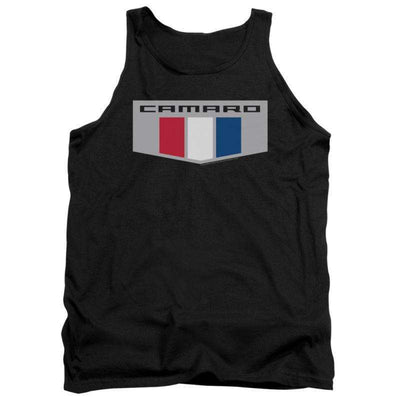 Mens Chevy Chrome Emblem Camaro Tank Top
