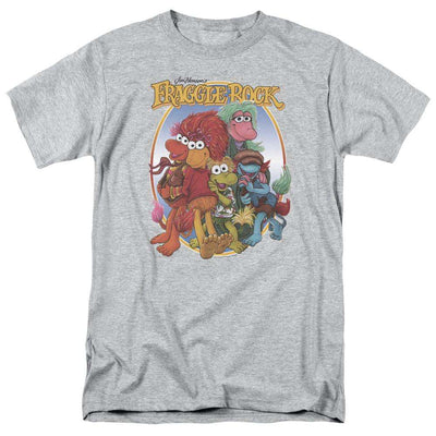 Mens Fraggle Rock/Group Hug Tee Shirt