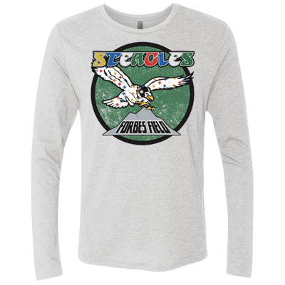 Men's Premium Steagles Triblend Long Sleeve Crew