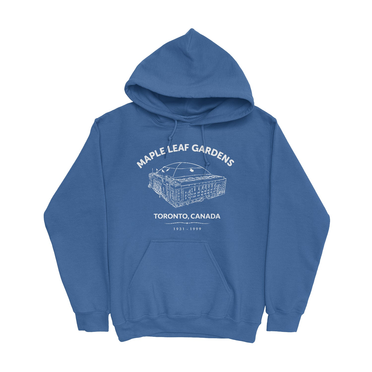 Retro Maple Leaf Gardens Unisex Hooded Sweatshirt