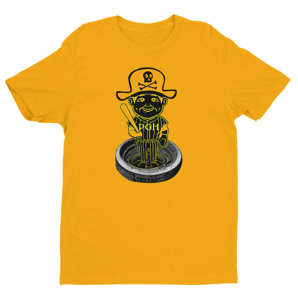 Pittsburgh Bobblehead Short Sleeve Mens T-Shirt