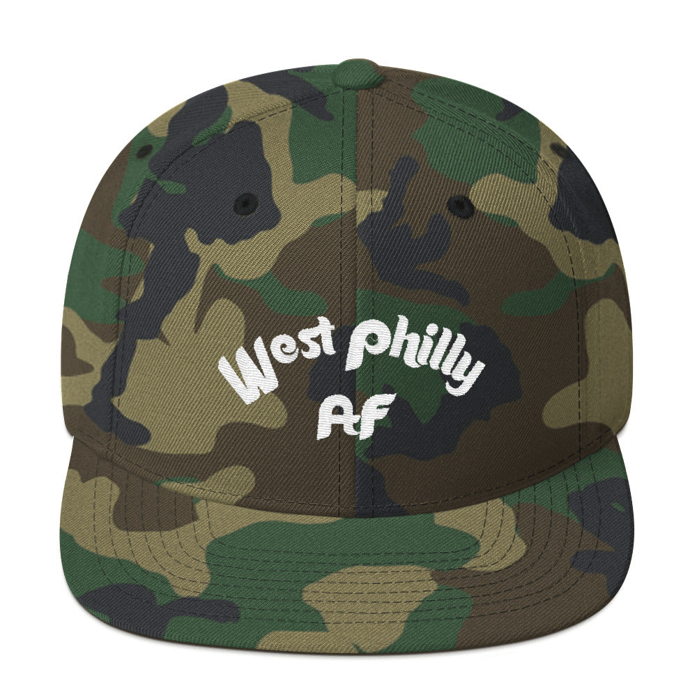 West Philly AF Snapback Hat