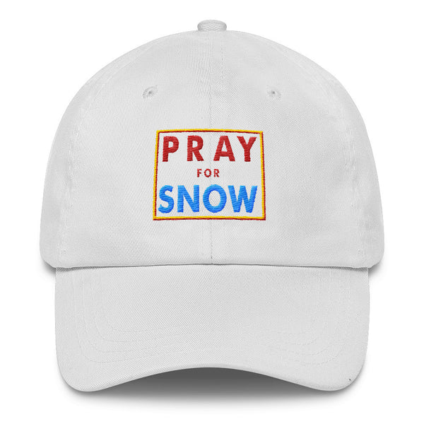 Pray for Snow Classic Dad Cap
