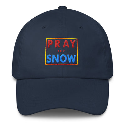 Pray for Snow Classic Dad Cap - Generation T