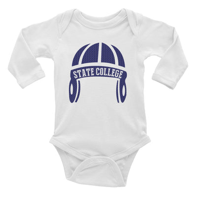 State College Football Infant Long Sleeve Bodysuit - Generation T