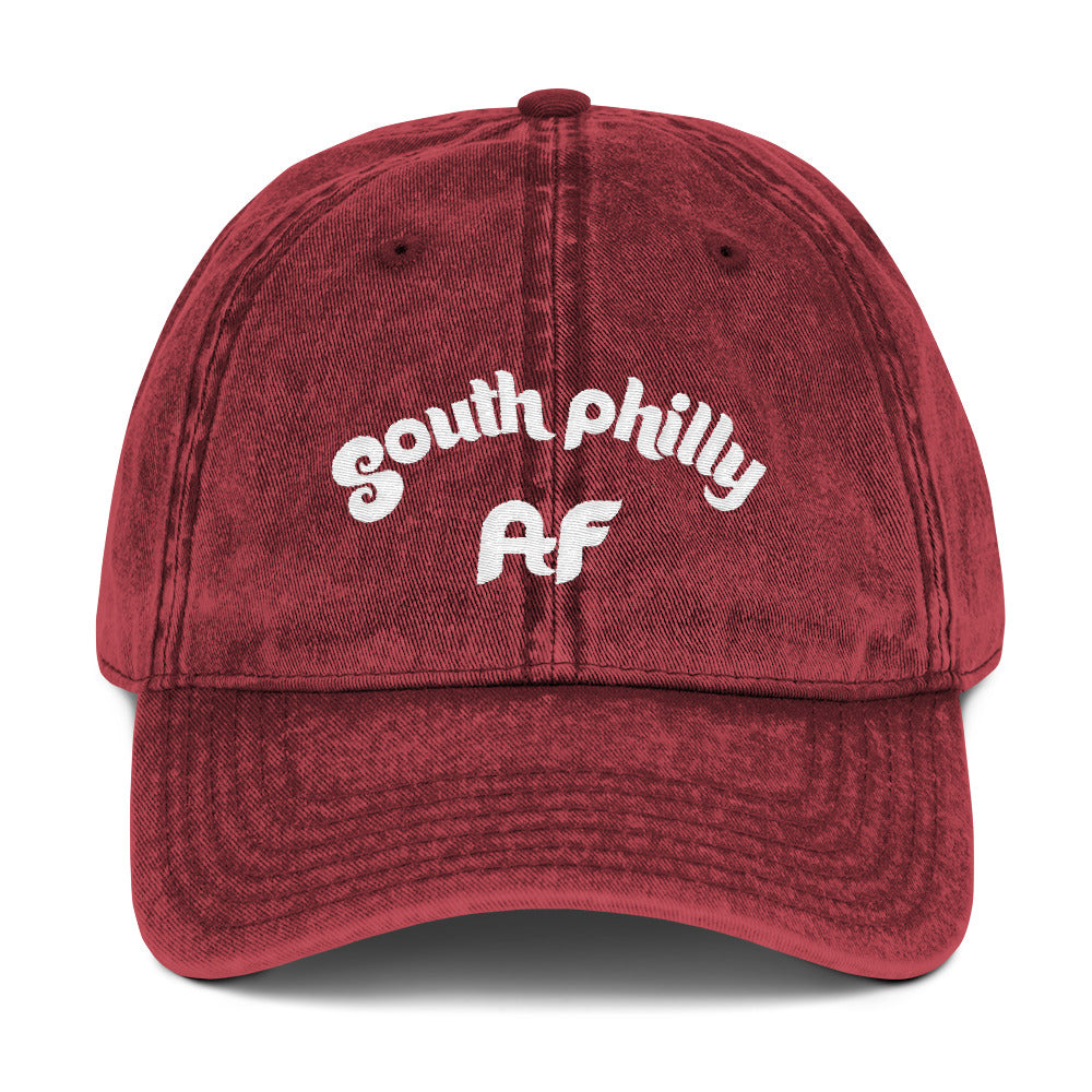 Retro South Philly AF Vintage Cotton Twill Cap