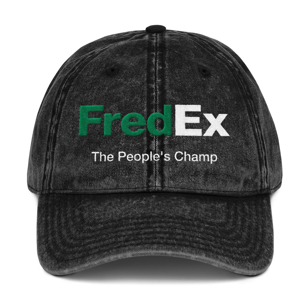 FredEx Vintage Cotton Twill Cap