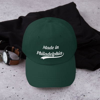 Made in Philadelphia Embroidered Dad hat