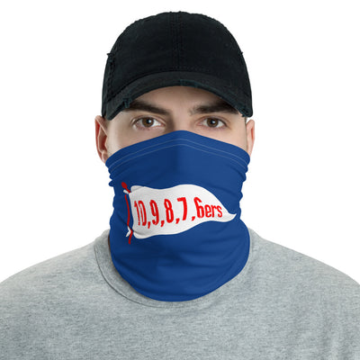 6ers Face Mask Neck Gaiter