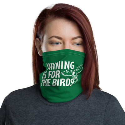 Winning Is For The Birds Neck Gaiter Face Mask