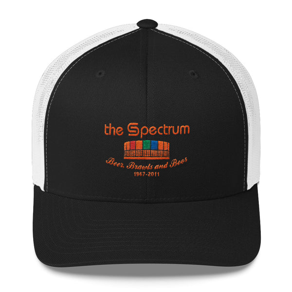 Retro The Spectrum Embroidered Trucker Cap